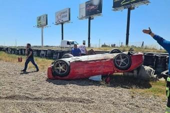 Nézni is fáj, mi történt ezzel a Ferrari 458-cal