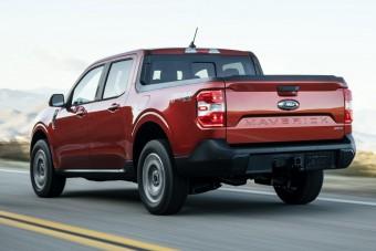 Hibrid pickupot mutatott be a Ford