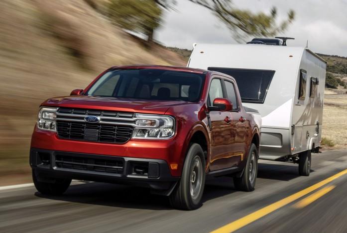 Ford 5 ha introducido una camioneta híbrida
