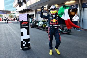 F1: Hajszálon múlt Pérez kiesése