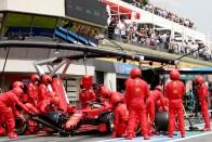 F1: Két éve ismert hiba miatt szerepelt le a Ferrari 1