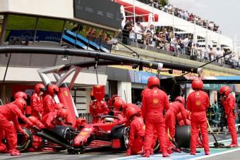 F1: Mélypont, kínos nulla pont a Ferrarinak