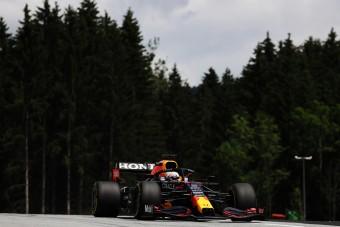 F1: Verstappen kezdett a legjobban a Red Bull pályáján
