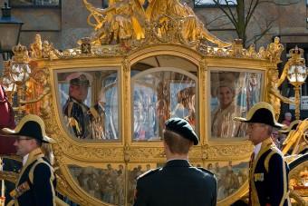 Elkészült a holland király rasszista arany hintója