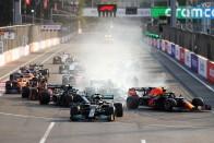 F1: Korábbi hibája miatt gázolta el csapattársát Hamilton 2