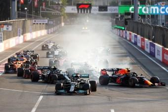F1: Egy gombnyomással nullázta le magát Hamilton