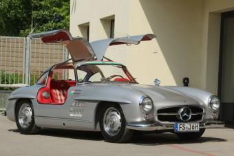 Budapest egyik legértékesebb ingósága ez a Mercedes 300 SL