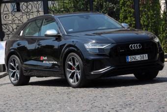 Audi SQ8: Precíziós csapásmérő
