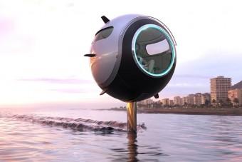 Föld, víz és levegő sem akadály ennek a kétszemélyes gömbnek