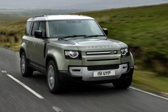 Jön a hidrogén üzemű Land Rover Defender