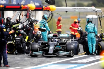 F1: Megint Bottasra fogta a vereséget a Mercedes