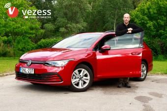 Vajon a kategória etalonjának számító VW Golf fedélzeti rendszere is erős?