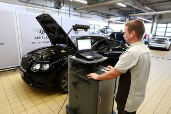 Tudod, mennyi egy Bentley éves szervize? Eláruljuk