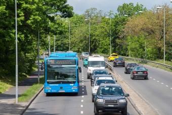 Újabb fontos út közlekedése változik Budapesten