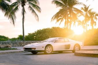 Nem csak olyan, ez az. A Miami Vice Ferrarija!