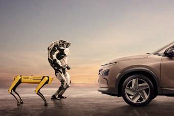 Megvette a robotkutyák gyártóját a Hyundai