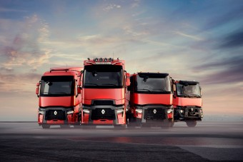 Sofőrbarát fejlesztésekkel frissültek a Renault teherautói
