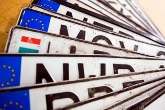 Hivatalos: ilyen lesz az új magyar rendszám, megvan a pontos dátum is