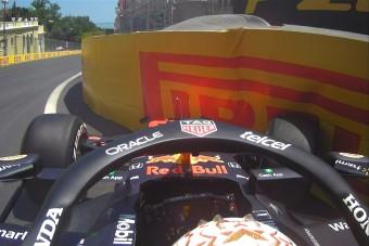 F1: Verstappen összetörte a Red Bullt az időmérő előtt