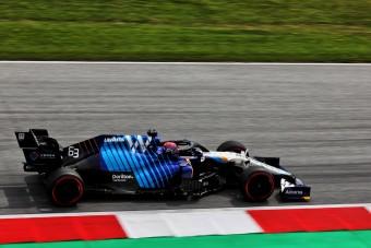 F1: Hajszálon múlt a csoda a stájer időmérőn