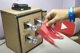 Kartondobozból is lehet légkondit tákolni