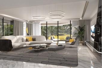 A Lamborghini tervezte ezt a luxusotthont