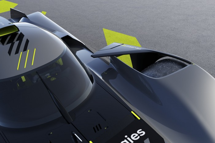 Peugeot 4 attacks with a 680 hp Batmobile