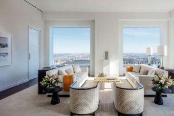 Ilyen belülről egy szaúdi milliárdos New York-i lakása
