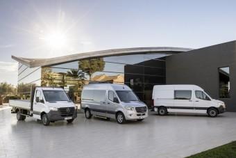 Fontos hír érkezett a Mercedes-Benz Sprinterről