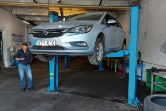 Fiatal Opel félmilliós hibalehetőséggel