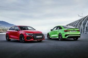 Öthengeres motor és drift mód. Itt az új Audi RS 3!