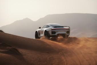Rajznak tűnik, pedig igazi ez a terep Porsche