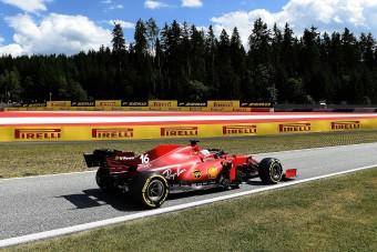 F1: Kétszer is kilökték, mégsem dühös Leclerc