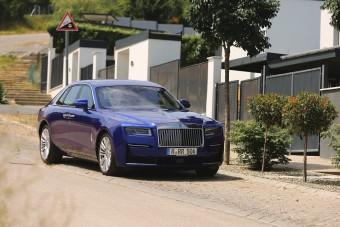 Járósnak is kell valami - Rolls-Royce Ghost