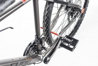 Pedálba építették a biciklizárat
