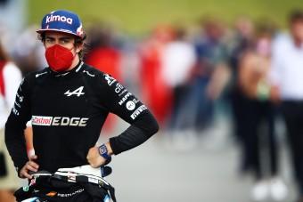 F1: Versenytársa elszomorította Alonsót