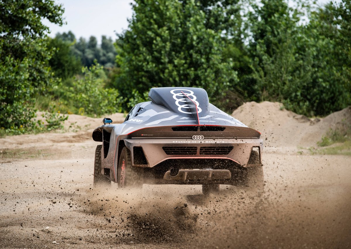 There will also be an electric monster at next year's Dakar Rally 4
