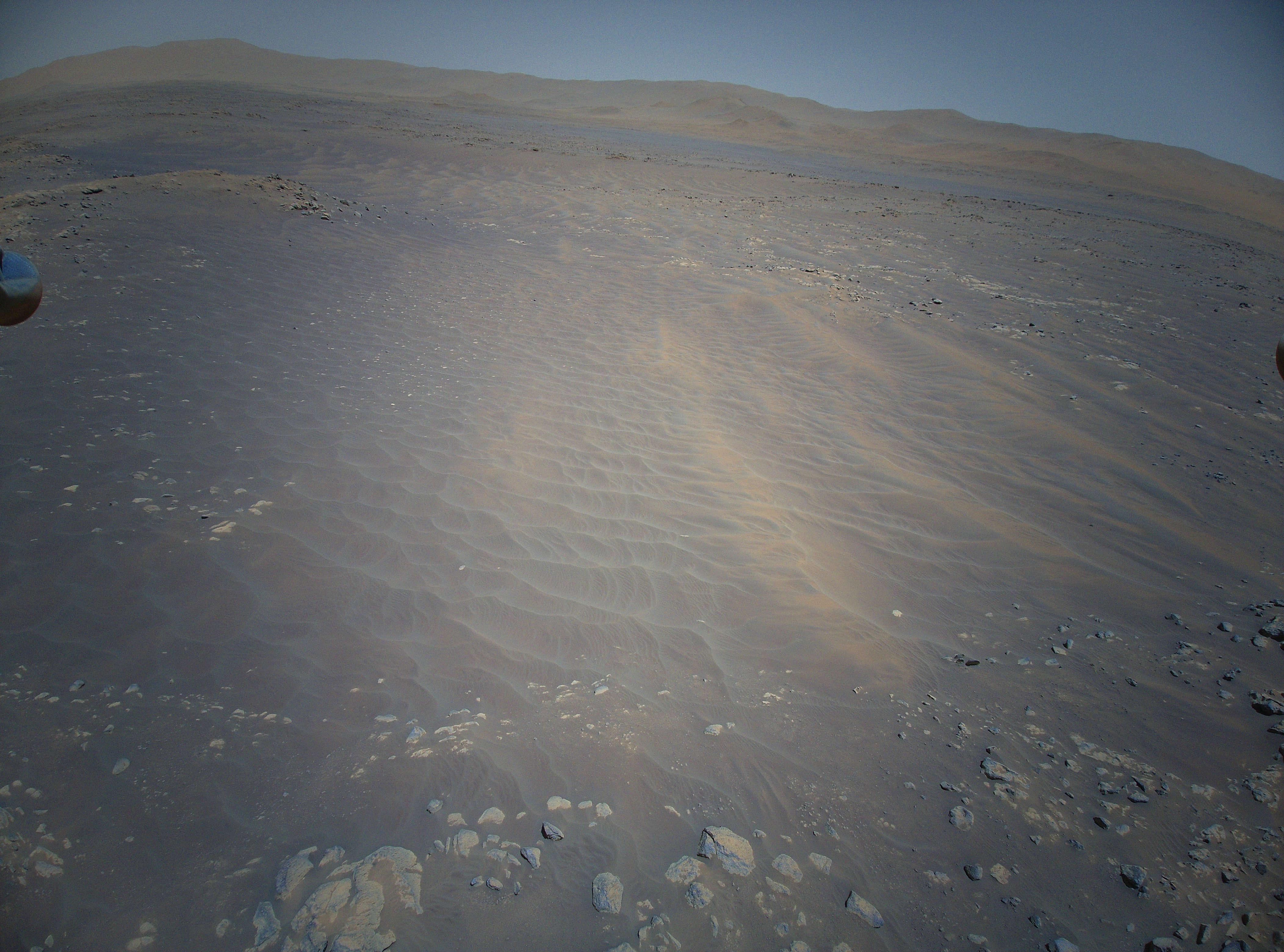 Új szemszögből mutatja meg a vörös bolygót a marsi helikopter 4