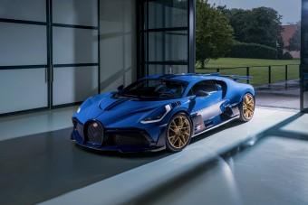 Alig kezdték el, máris itt az utolsó Bugatti Divo