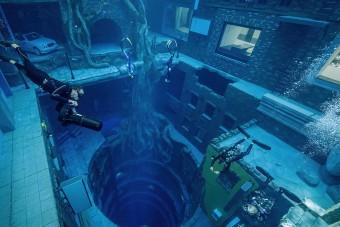 Víz alatti várost építettek Dubajban