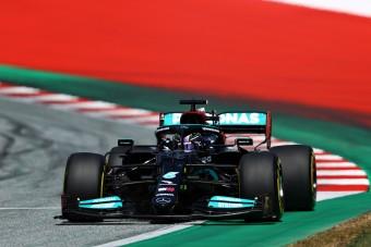F1: Hamilton nagy bajban, magát is leírta