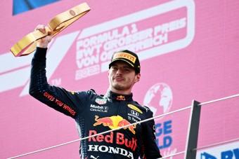 F1: Leesett Verstappen álla, erre ő sem számított