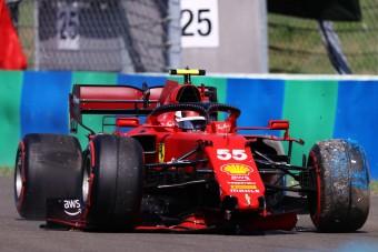 F1: Videón a baleset, csalódás a Ferrarinál