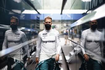 F1: Rendhagyó módon mutatott példát Vettel