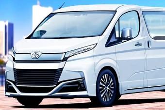 Plug-in hibrid furgont tervezhet a Toyota