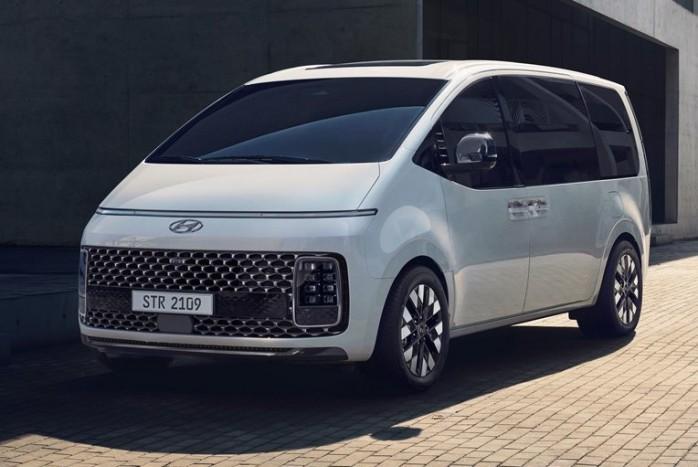 Hyundai Staria képek és műszaki adatok