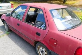 Olyan rég parkol Miskolcon egy Suzuki, hogy kinőtt belőle egy növény