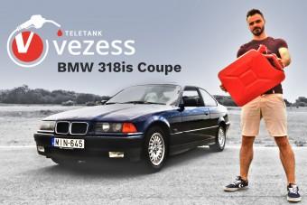 Mennyit eszik egy 26 éves BMW? Megmértük és videóban is megmutatjuk!