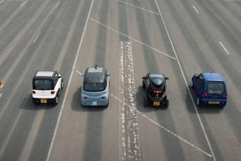A legolcsóbb villanyautócskák gyorsulási versenye több mint vicces