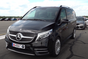 Elképesztő erő van ebben a tuningolt Mercedes kisbuszban